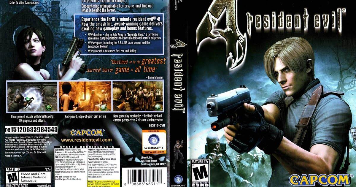 Ps2 Resident Evil 4 By Ithomas.