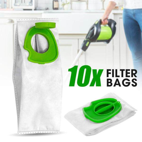 【Free Shipping】10Pcs Dust Filter Bags 1.5L Replacement For Gtech Hygienic Pro K9 ATF301 ATF305