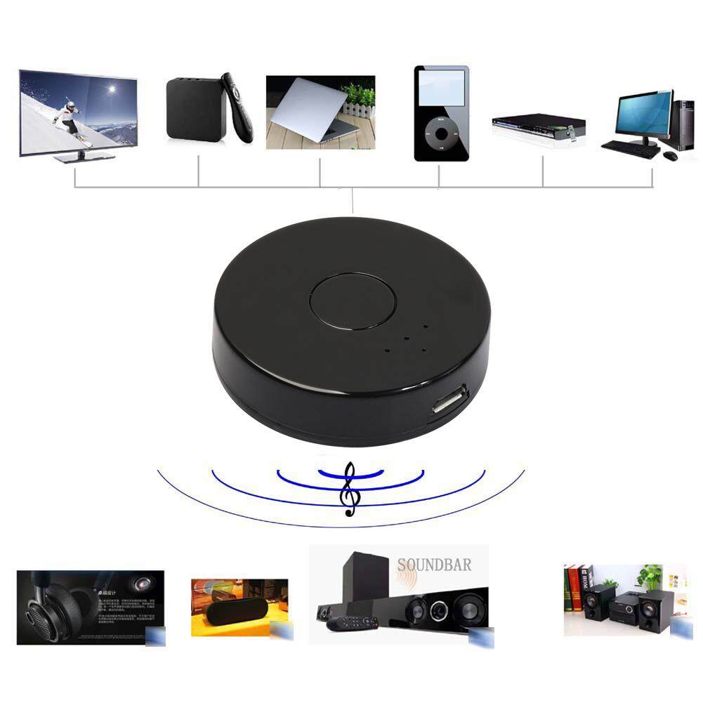 Multi-Point Wireless Audio Transmitter Sender3.5mm Bluetooth 4.0 for TV/MP3