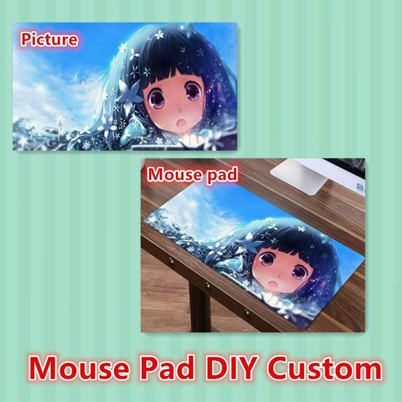 FFFAS DIY Custom Mouse pad XL Super Large MousePad Gamer Gaming Playmat Japan Korea Anime Fashion Keyboard Mat Customized Made Malaysia
