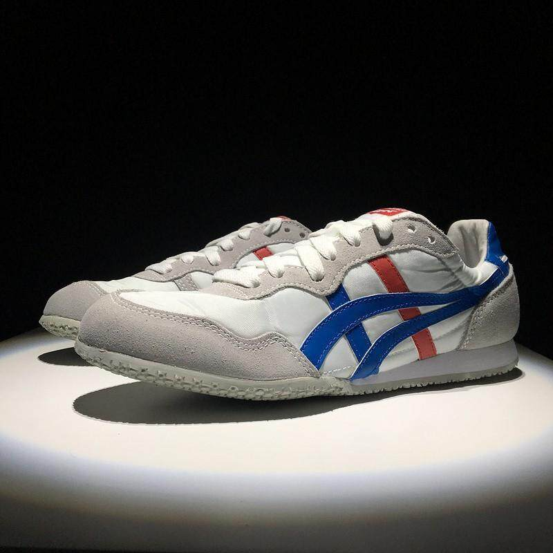 Asics_Onitsuka_Tiger_SERRANO_men_and_women_leather_fashion_casual_sneakers_shoes