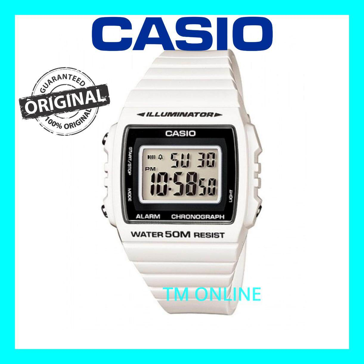 (ORIGINAL+1YR WARRANTY) W-215H-7A CASIO DIGITAL MEN/LADIES CASUAL SPORT WATCH Malaysia
