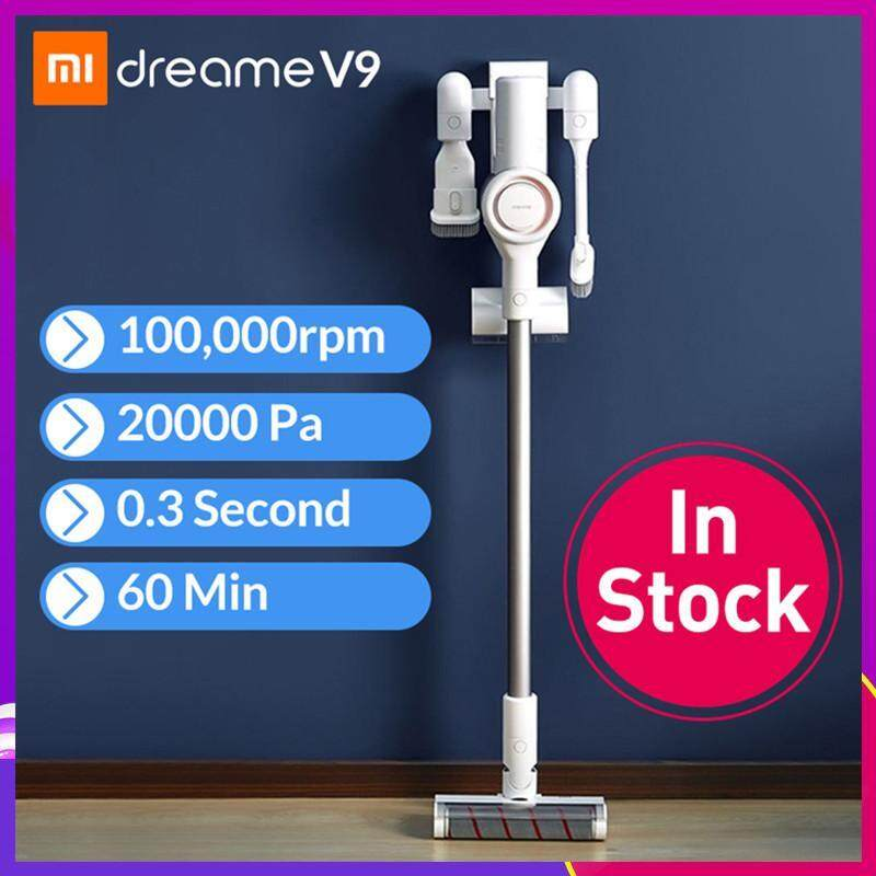Original Xiao mi Dreame V9 Handheld Cordless Vacuum Cleaner Portable Wireless Carpet Dust Collector Mi Sweeping Cleaning for Home Cyclone Singapore