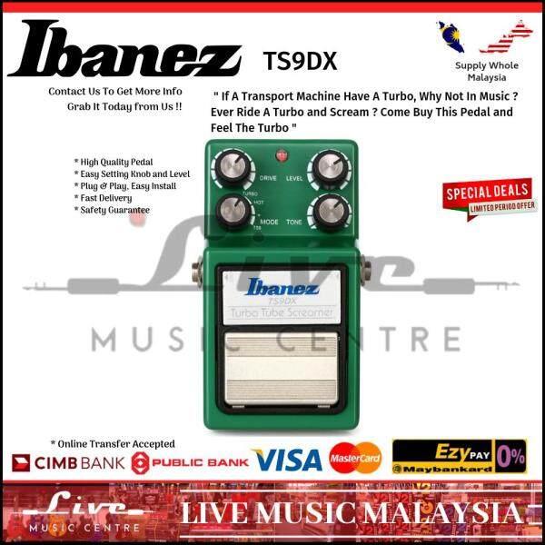 Ibanez TS9DX Turbo Tube Screamer Guitar Effect Pedal (TS9) Malaysia