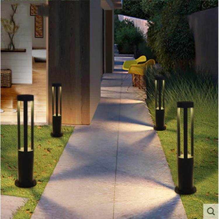 1 PCS Garden Yard Column Light PathSpot Lawn LED Light 4 Four Ray Garden Waterproof Pole Rod Lamp Landscape Outdoor Light