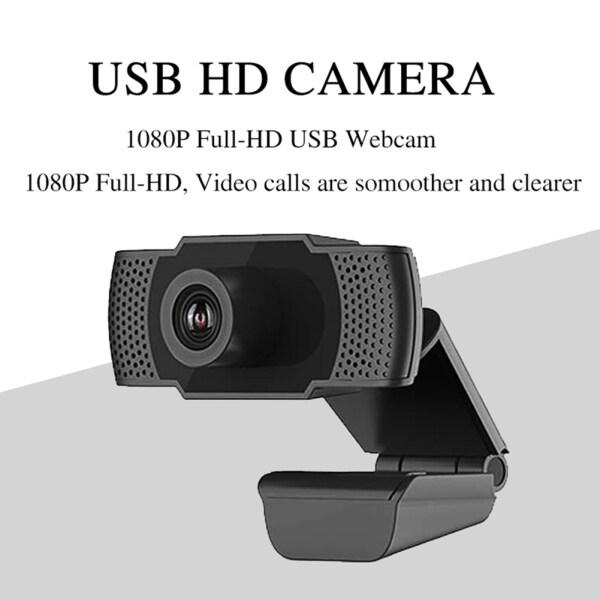 Bảng giá Camera Web Full HD 1080P, Webcam USB 360 Xoay 2.0 Có Micrô Tích Hợp, Phụ Kiện Máy Tính Phong Vũ