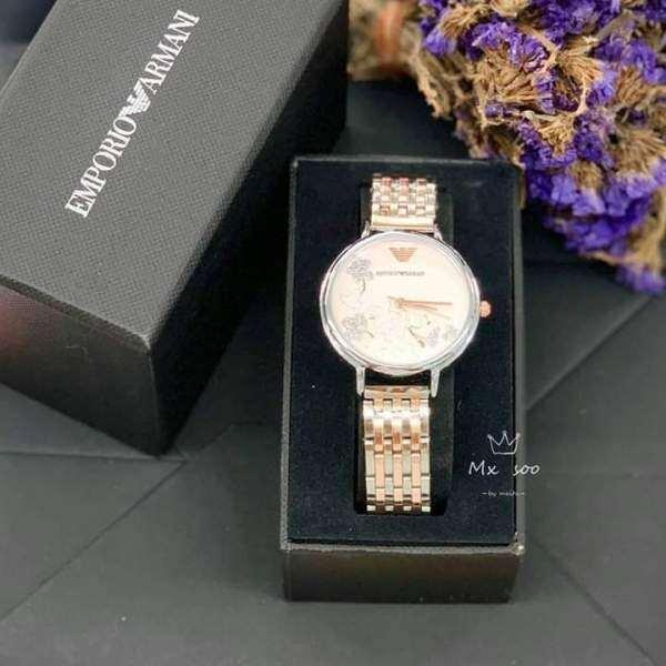 Emporio Armani Womens Chronograph Brown Quartz Watch Malaysia