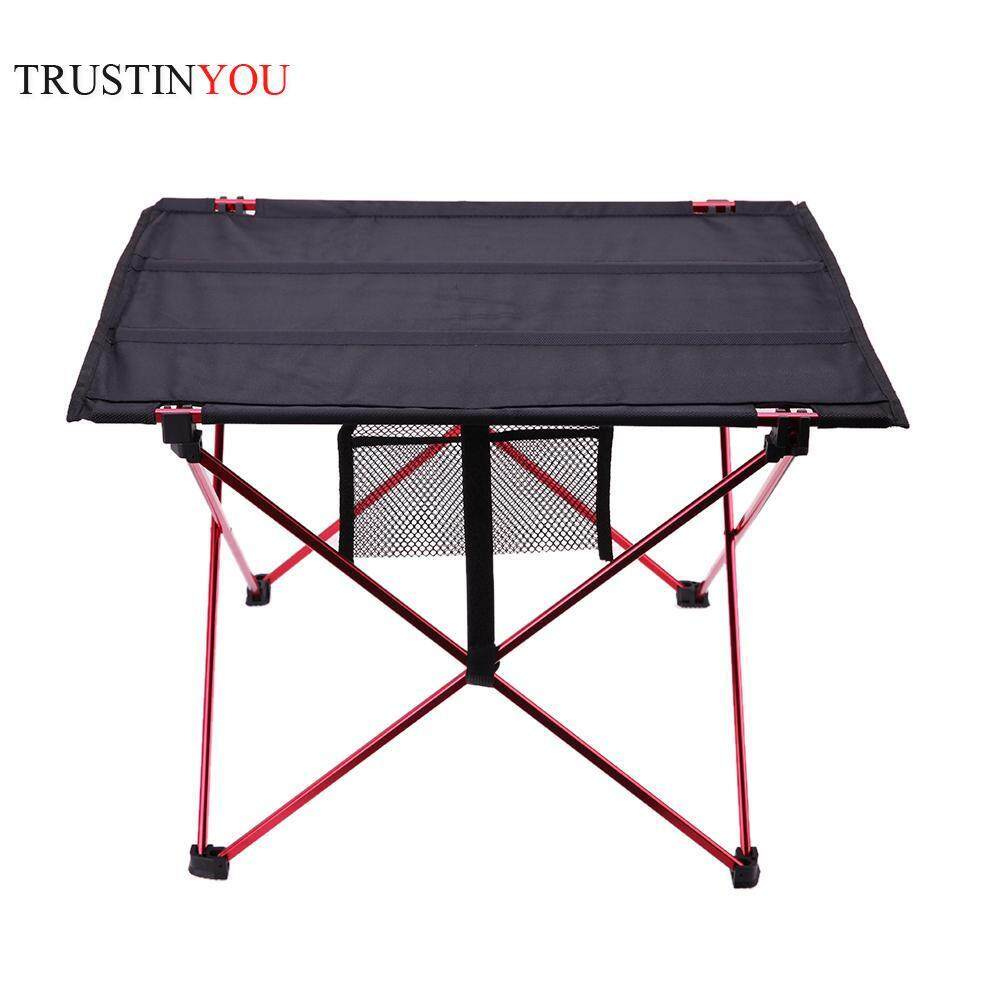 [trustinyou]Aluminium Alloy Travelling Camping Picnic Barbecue Folding Table Outdoor