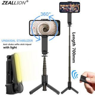 Zeallion Bộ Ổn Định Gimbal 3 Trục Gậy Chụp Ảnh Tự Sướng Bluetooth Không Dây Gimbal Cầm Tay Có Đèn, Mini Cho iPhone Điện Thoại Thông Minh Điện Thoại Di Động thumbnail