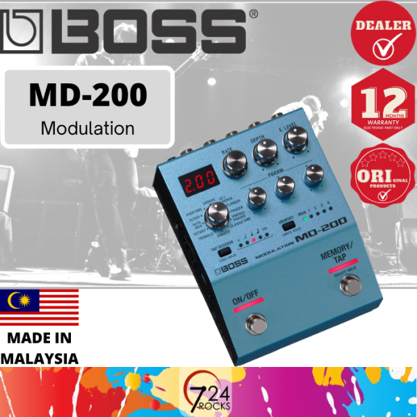 724 ROCKS Boss MD-200 Modulation Multi Effect Pedal ( MD200 ) Malaysia