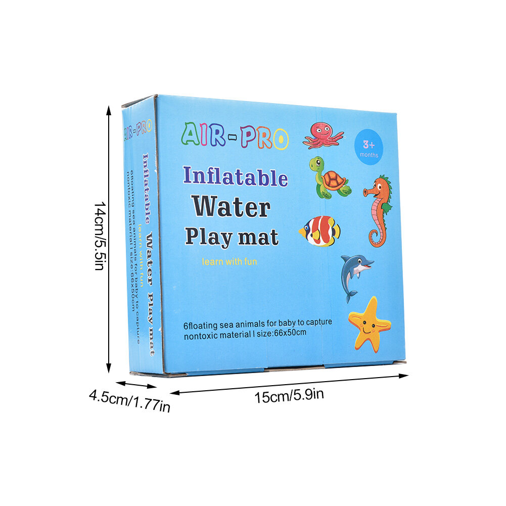 Baby Inflatable Patted Pad - Baby Inflatable Water Cushion - Prostrate Water Cushion Pat Pad