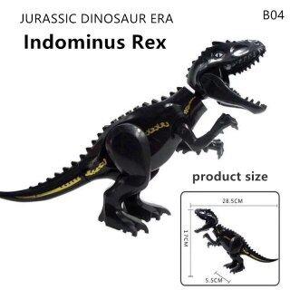 Khối Xếp Hình Khủng Long Kỷ JuRa 2021, Dành Cho Thành Phố Trẻ Em Gạch Mô Hình Khủng Long Lớn Tương Thích Tyrannosaurus Đồ Chơi Bé Trai Cho Trẻ Em thumbnail