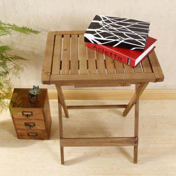 Outdoor Tables Folding Table Wooden End Table Small Table By Olive Al Home