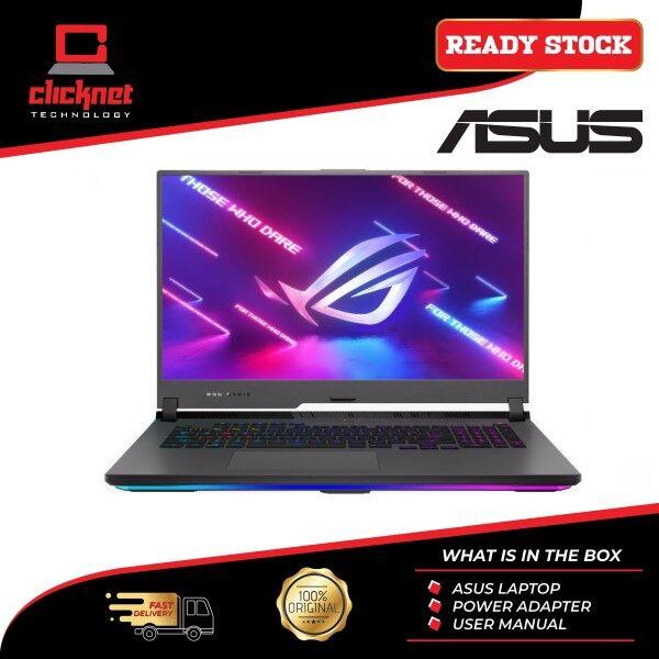 "Asus ROG Strix G17 G713Q-MHX132T 17.3"" FHD IPS 144Hz GAMING LAPTOP (RYZEN 9-5900HX 16GB 1TB M.2 NVMe PCIe RTX3060 6GB W10) Malaysia"