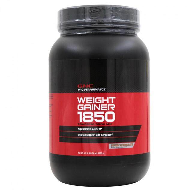 89c8e52455 GNC Pro Performance® 1850 Weight Gainer Chocolate 4.3lbs 1950g