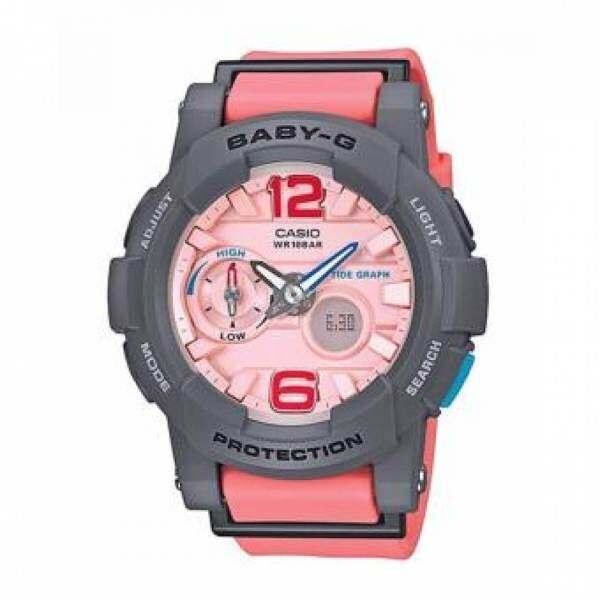 Special Promotion CASI0 BABY_G_BGA-185FS-2ADR Sport dual Watch For Women Malaysia