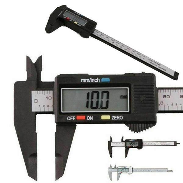 Valueshopping-mal 150mm Digital Portable Caliper Carbon Fiber Micrometer Replace Ruler Gauge Tool