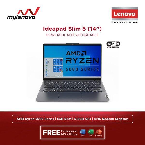 Lenovo IdeaPad 5 AMD Ryzen 7 5700U Ryzen 5 5500U 8GB 512GB SSD Malaysia