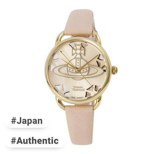 edd03a6d6f2 Vivienne Westwood watch LEADENHALL white dial pink leather Quartz VV163BGPK  Ladies