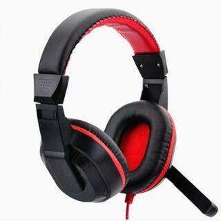 Tai nghe chơi game tai nghe chụp tai 3.5mm Tai nghe chơi game âm thanh nổi gamer có micrô cho PC Android thumbnail
