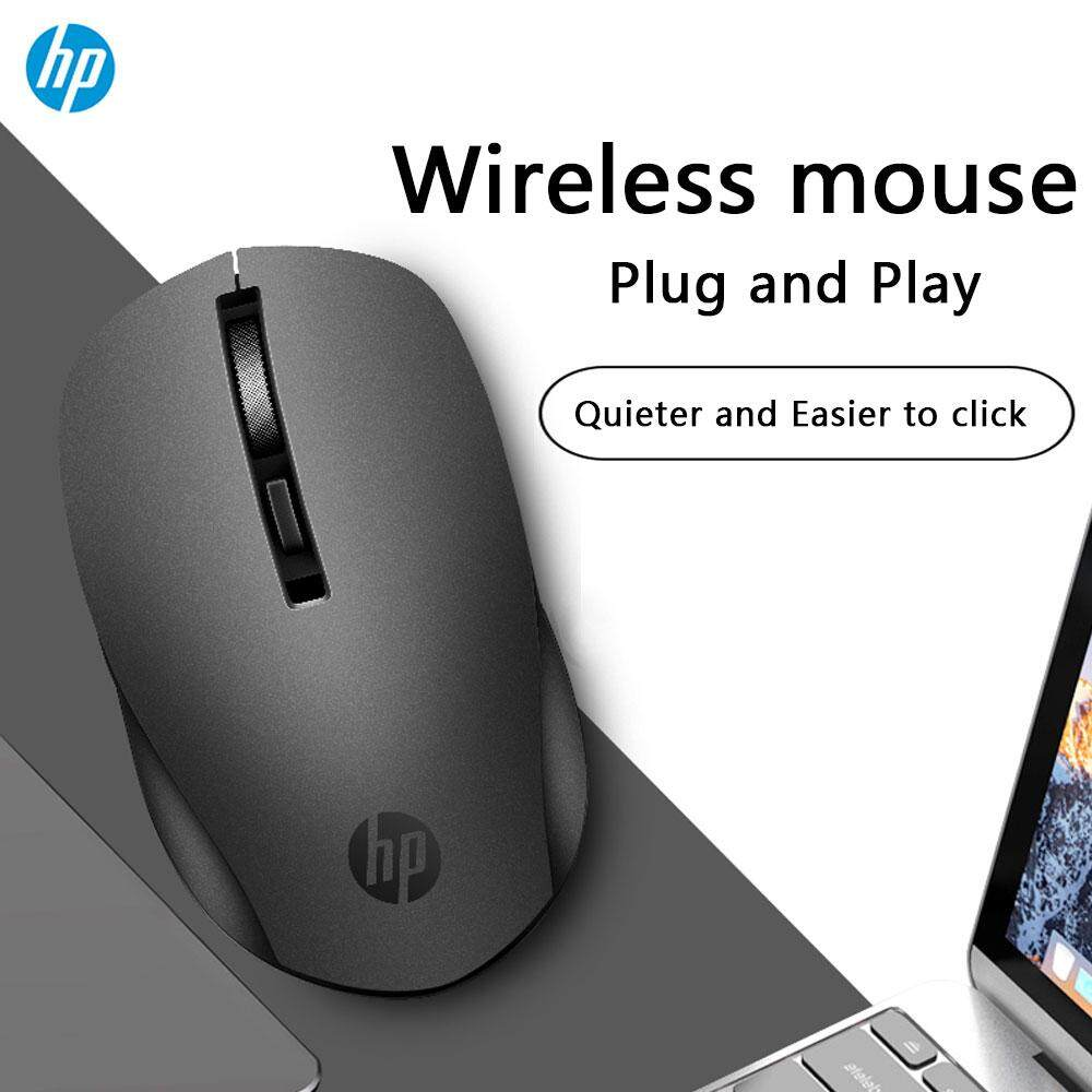 HP S1000 PLUS Silent USB Wireless Mouse 1600 DPI Adjustable USB 3.0 Receiver Optical Computer Mouse 2.4GHz Ergonomic Mice for Laptop PC Mouse