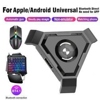 Bàn Phím Chơi Game Một Tay, PUBG Chuyển Đổi Mini Bàn Phím Nhỏ Dropship Đèn Nền LED Tay Cầm Chơi Game PUBG Mobile Bộ Chuyển Đổi Chuột Bàn Phím Chơi Game Cắm Và Chơi Dành Cho Android Ios Phon thumbnail