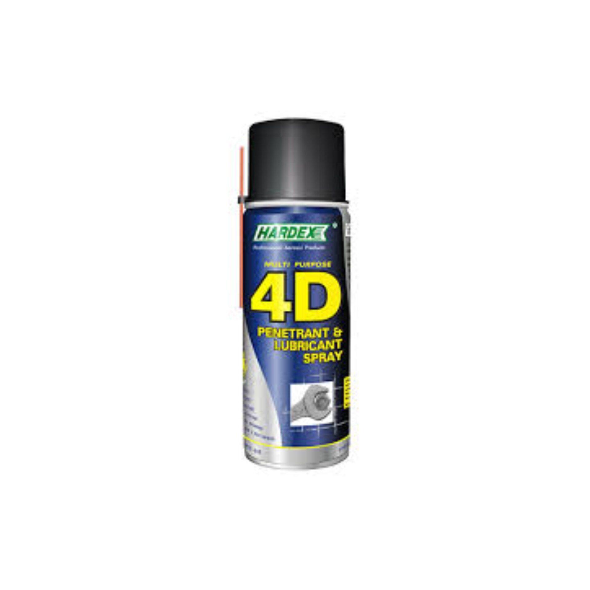 HD420 HARDEX 4D PENETRANT & LUBRICANT SPRAY 200ML