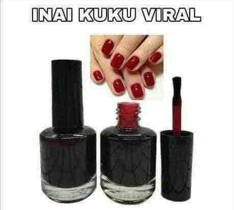 Inai Kuku Viral By Kosmetik Kami.