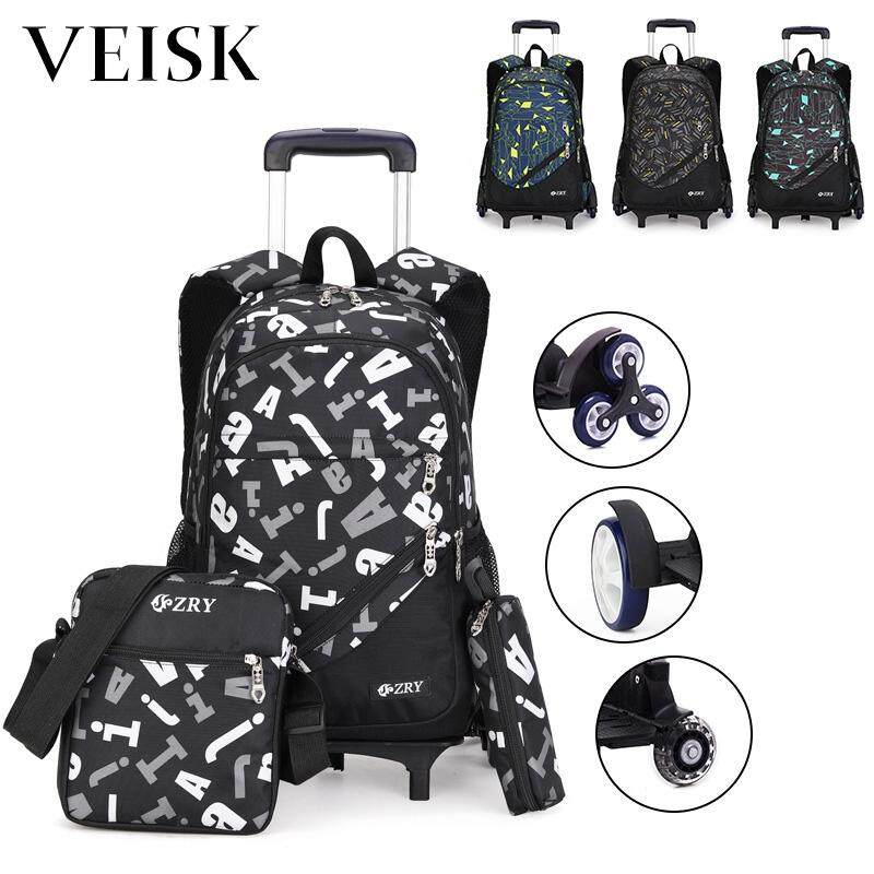 Veisk New Style Rod Bag Primary Boy Children Can Climb The Stairs Dual-use