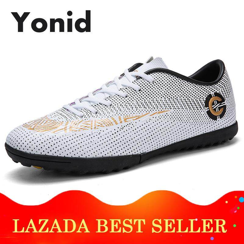 39132b3fe77 Yonid Boy s Size 40-45 Futsal Shoes Soccer Shoes Men Football Shoes Sneakers
