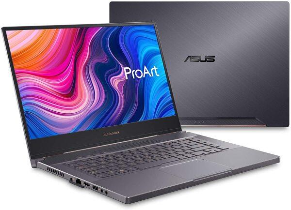 "ASUS ProArt StudioBook Pro 15 Mobile Workstation Laptop, 15.6"" UHD NanoEdge Bezel, Intel Core i7-9750H, 48GB DDR4, 2TB PCIe SSD, Nvidia Quadro RTX 5000, Windows 10 Pro, W500G5T-XS77, Star Grey Malaysia"