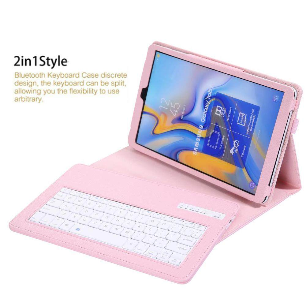 For Samsung Galaxy Tab S5E 10 5 2019 Keyboard PU Leather Case, Slim Folio  Shell Cover Removable Wireless Bluetooth Keyboard for SM-T720 SM-T725 T720