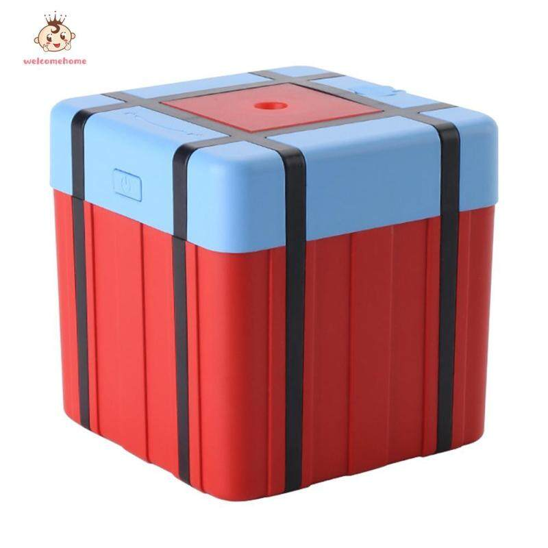 300mL PUBG Airdrop Box 7 Color LED Light Air Humidifier USB Aroma Diffuser Singapore