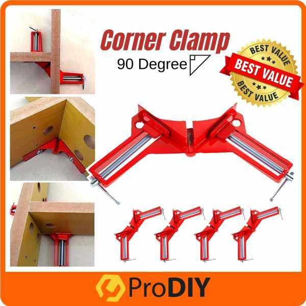 90 Degree Right Angle Woodworking Kit Corner Clamp Holder Wood Frame ( 1pc / 2pcs / 4pcs )