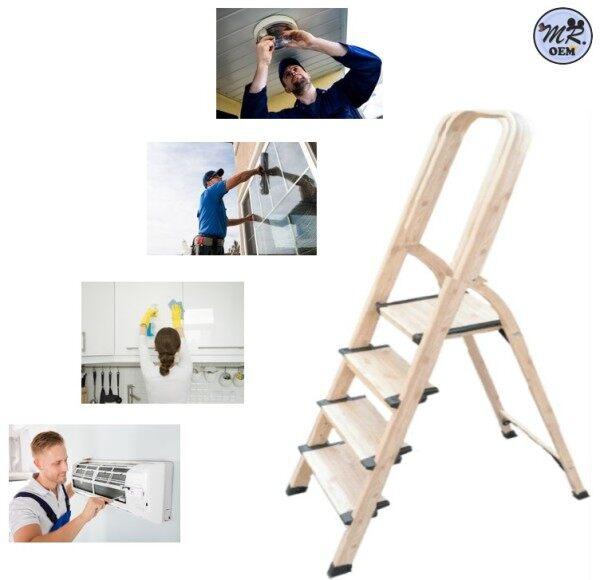 MR OEM 4 Steps Aluminium Foldable Ladder