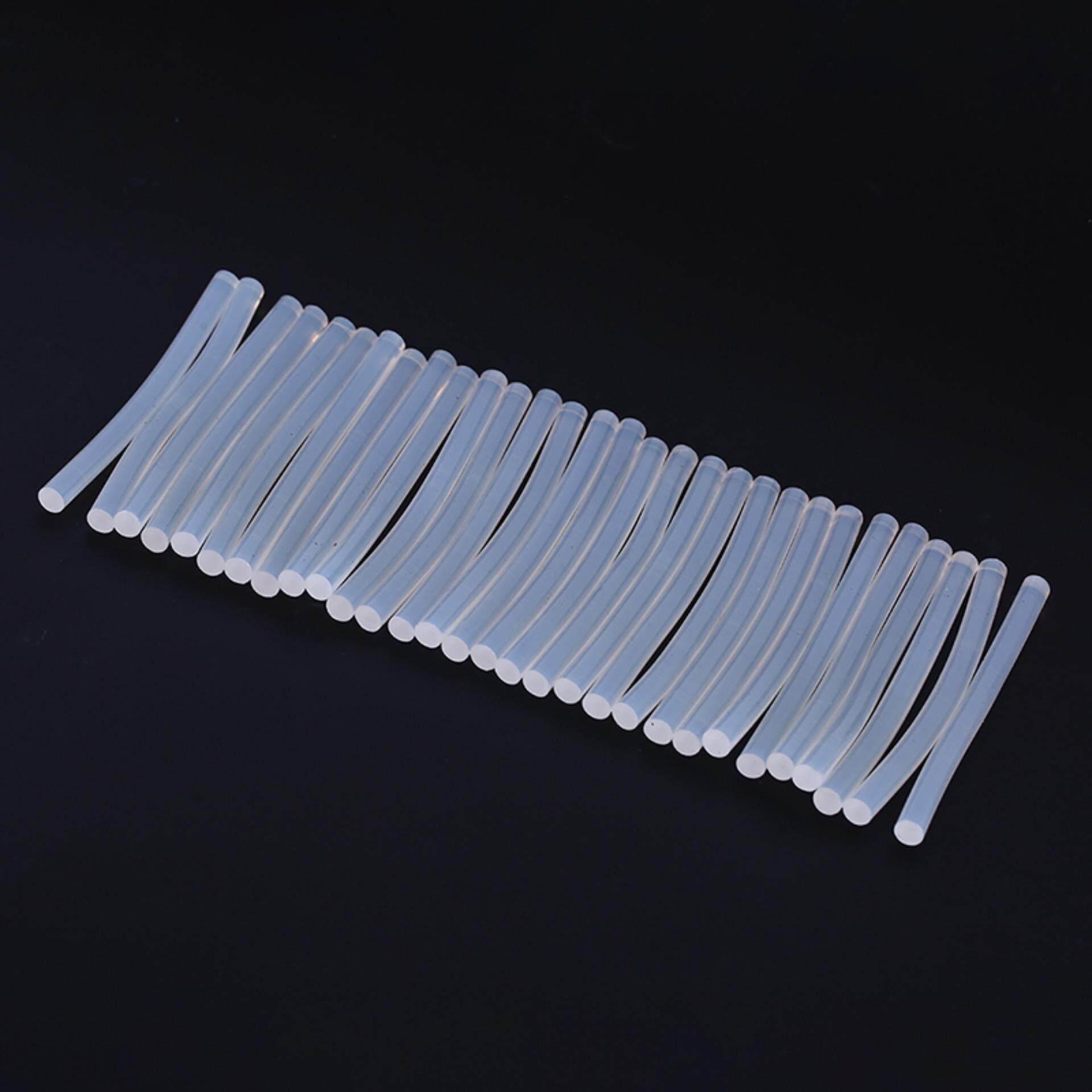 Sissi 30pcs Mini Melt Glue Sticks General Purpose Transparent Adhesive Stick 7mm