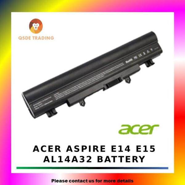 Acer Aspire E14 E15 AL14A32 E1-571 571G Laptop Battery Malaysia