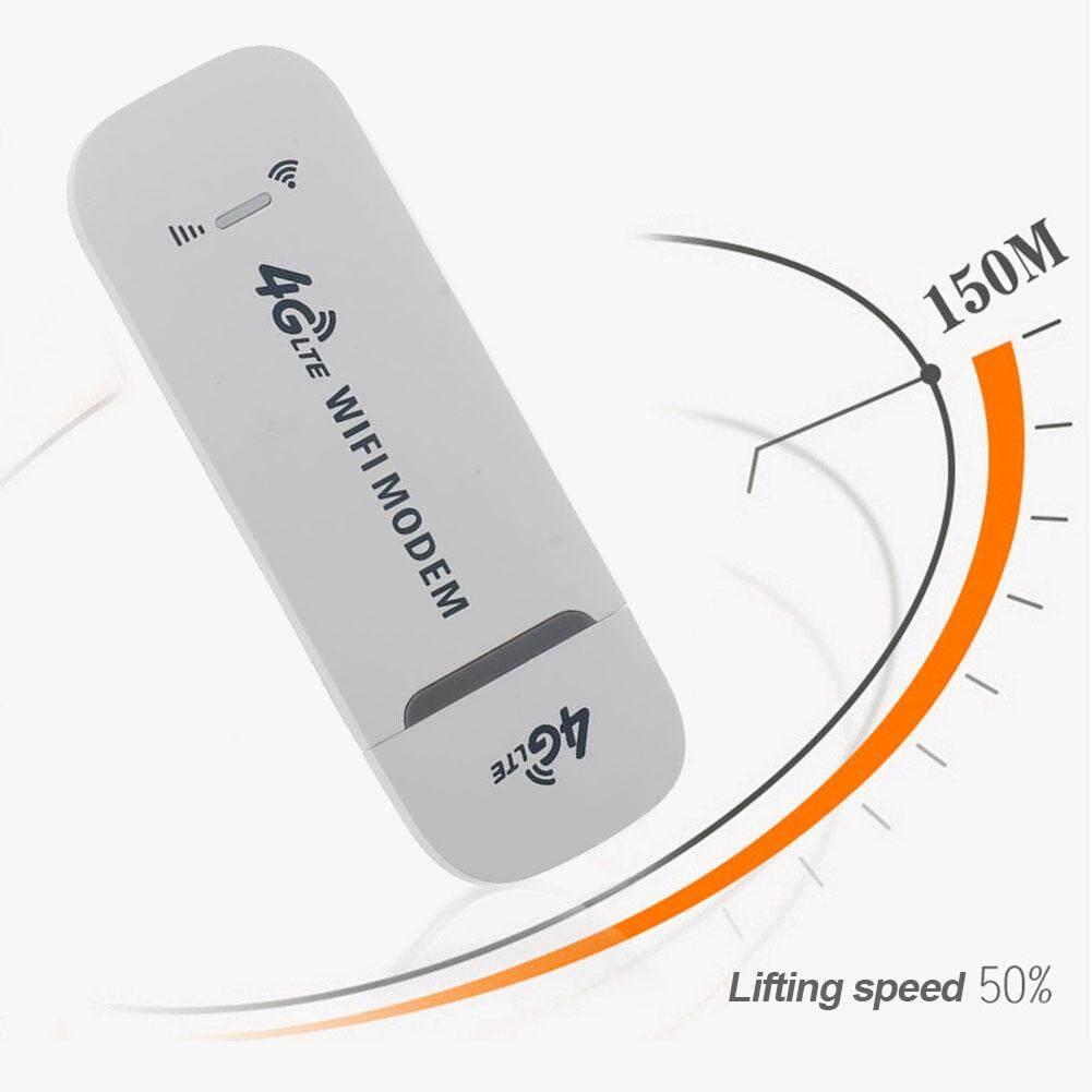 Giá 4G LTE Tốc Độ Cao Trắng Modem Wifi Không Dây Mở Khóa Nhỏ Dongle USB 150Mbps Đa Năng Mạng