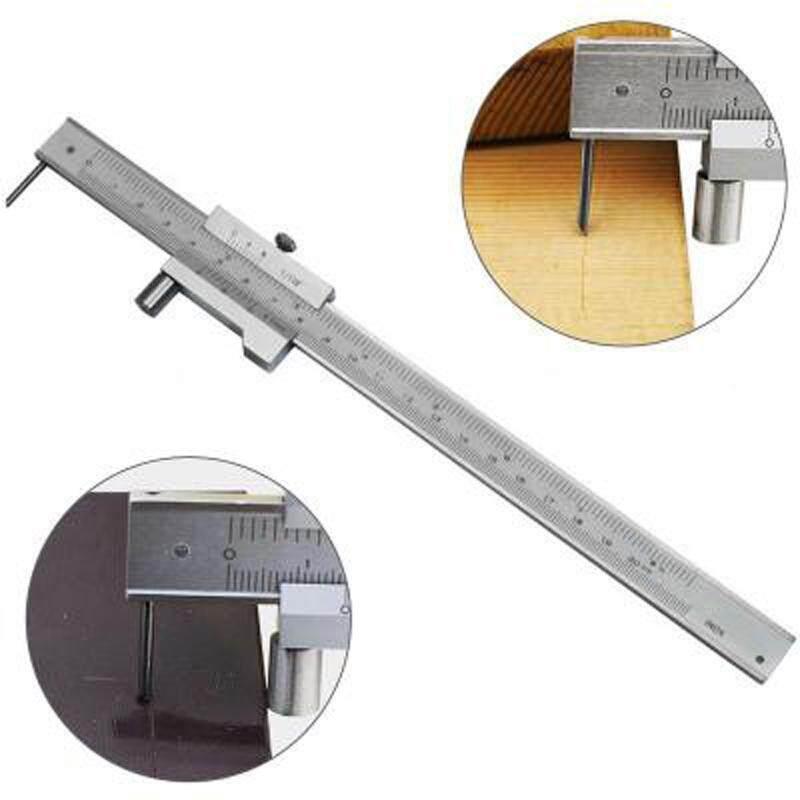 200mm Stainless Steel Parallel Marking Gauge Vernier Caliper / Carbide Scriber
