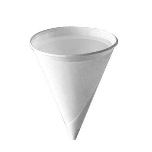 4oz Cone Paper Cup (200pcs) By Convenie Store.