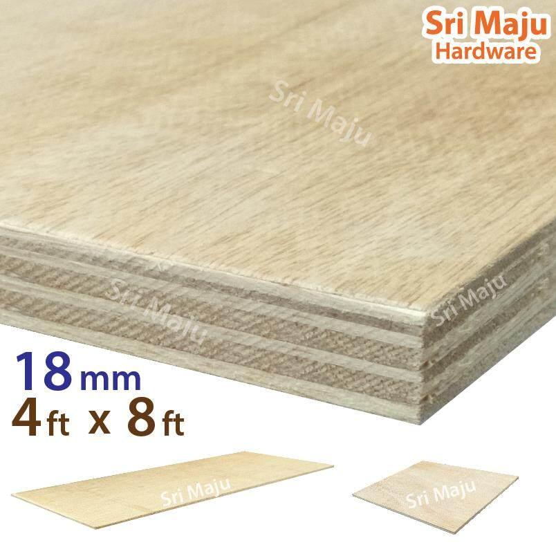 MAJU (4ft x 8ft) 18mm Plywood Timber Panel Wood Board Sheet Ply Wood Papan Kayu