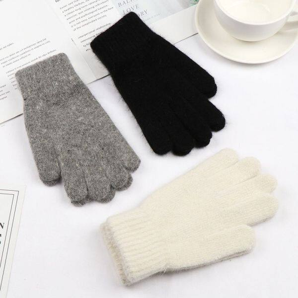 Giá bán DOYOURS Fashion Outdoor Cashmere Cycling Driving Full Finger Gloves Warm Thick Winter Gloves Mittens