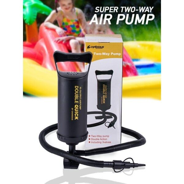 Portable Super 2 Way Air Pump for Inflatable Pool Mattress Sofa Boat Portable Pump Pam Udara
