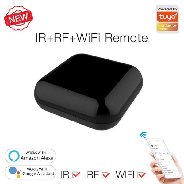 Coolmanloveit Thiết Bị Điều Khiển Từ Xa Đa Năng WiFi RF IR Tuya Smart Life APP Điều Khiển Bằng Giọng Nói Dành Cho Alexa Google Home