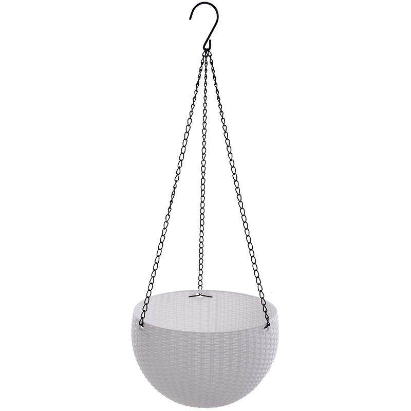 46cm resin Plant Flower Hanging Pot Basket  Indoor Plant Hanger Outdoor Hanging Pot Holder Basket