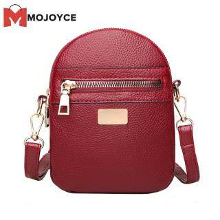 Túi đeo chéo chất liệu da PU mềm mại dành cho nữ thích hợp bỏ điện thoại có nhiều ngăn tiện lợi MOJOYCE thumbnail