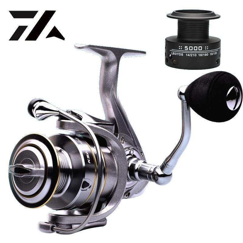 High Speed Spare Spool Fishing Reel 5.5:1 Gear Spinning Reel Baitcasting Wheel G