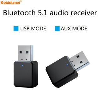 Kebidumei Bộ Thu Âm Thanh Bluetooth 5.0, Âm Nhạc Không Dây Stereo Adapter, Nguồn USB AUX 3.5Mm Cho Đài Phát Thanh Xe Hơi Máy Tính MP3 thumbnail