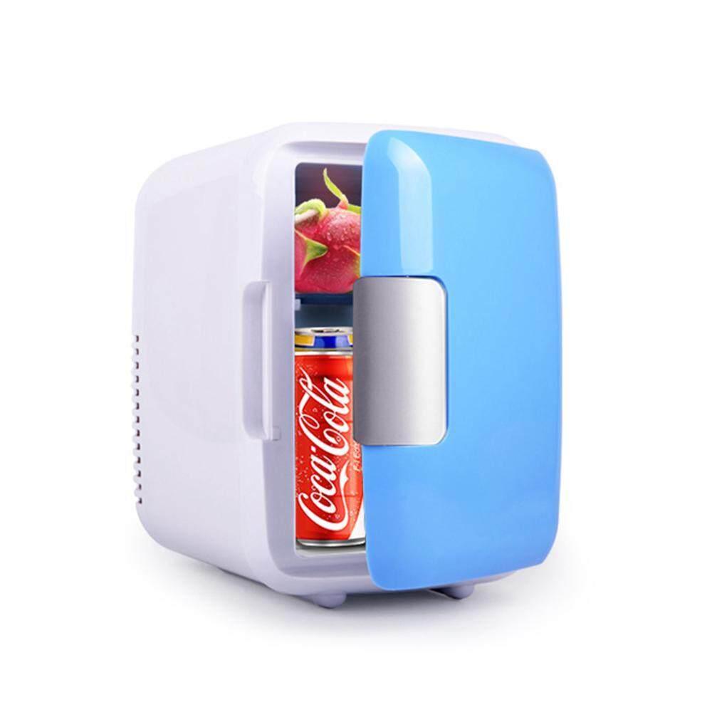 SeaLavender 4L 220V/12V Eletric Mini Cold and Warm Car Refrigerator for Car