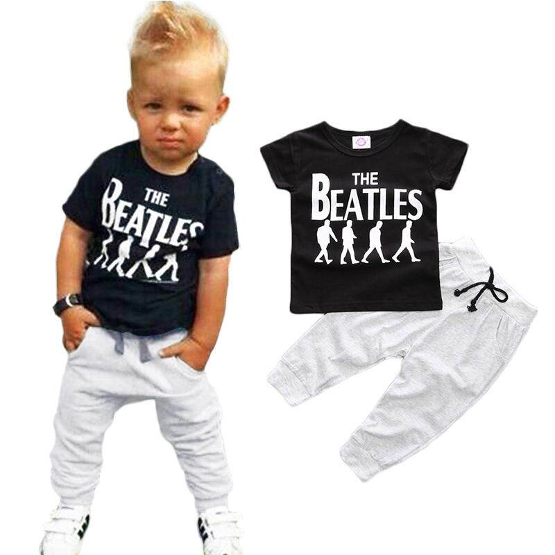 8b3949272c1 ❤️Cutiebaby Toddler Kids Baby Boy T-shirt Tops+Long Pants Trousers Outfits  Clothing